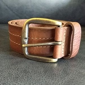 Gap genuine leather men's belt